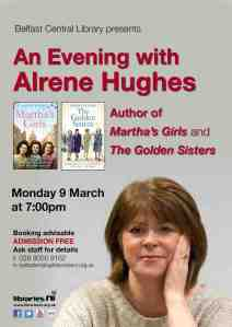LIBRARIES NI Alrene Hughes event
